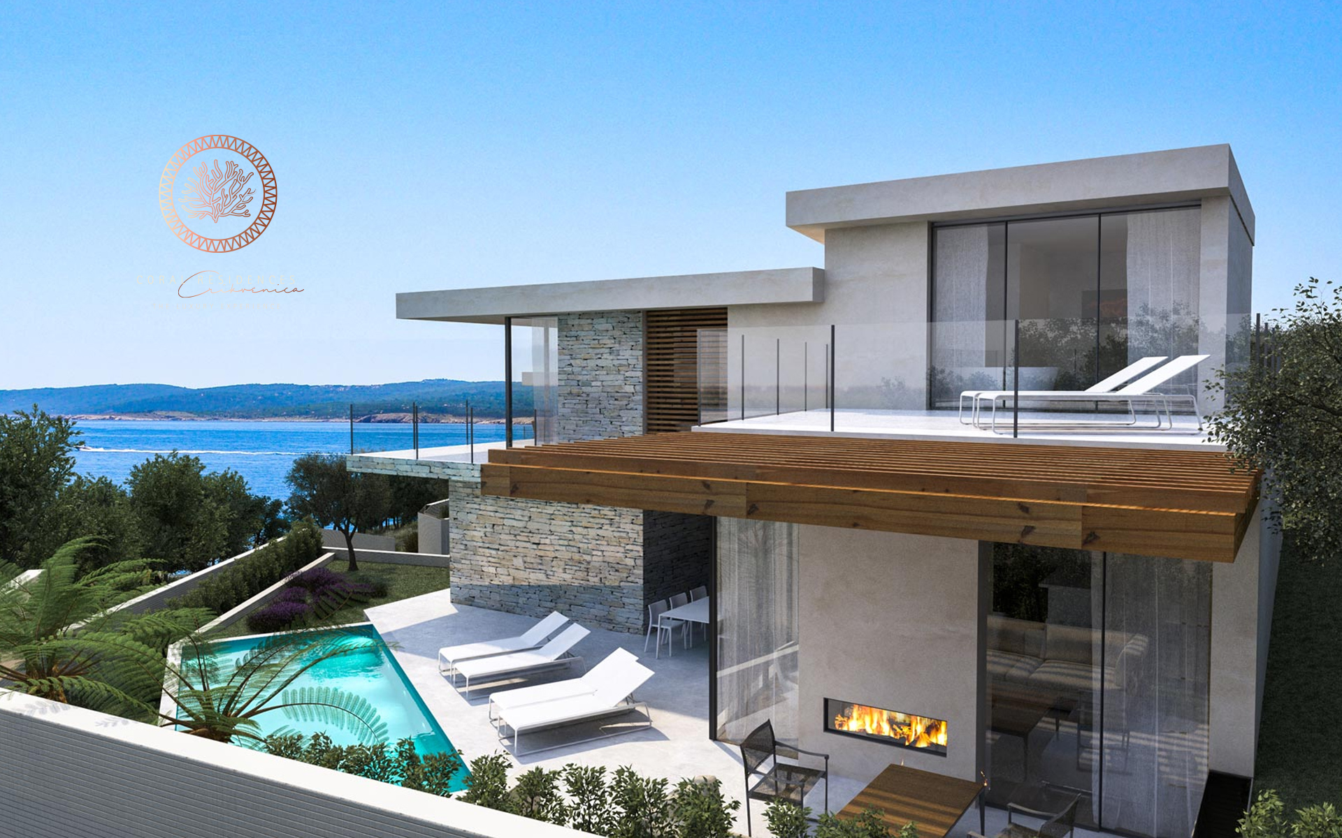 Coral residences Crikvenica project